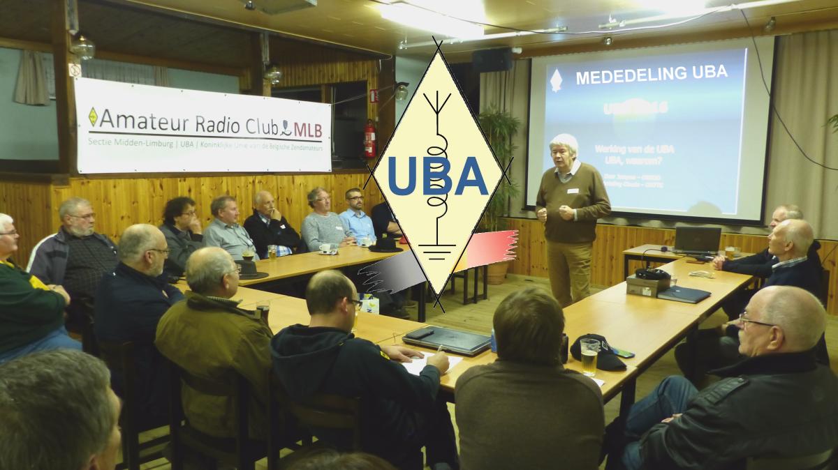 FEBRUARI 2020 – Infovergadering UBA-Limburg